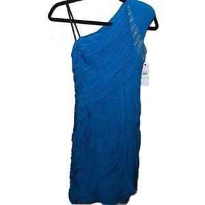 •Laundry by Shelli Segal• Blue Cerulean Sz 4 dress